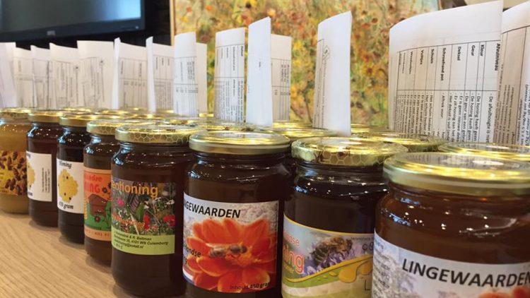 Uitslag honingkeuring Oogstmanifestatie Bij Bewust Betuwe